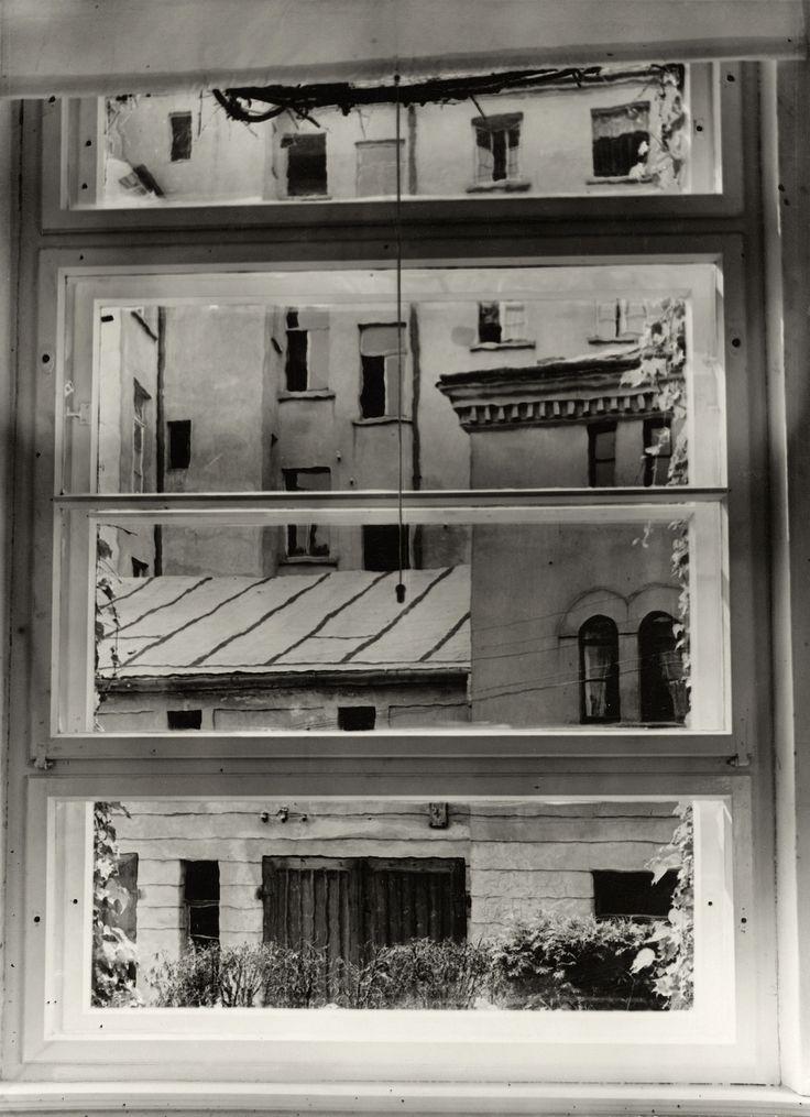 Studiofenster, Foto von Aenne Biermann, 1929