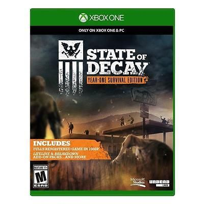 cool State of Decay -- Year-One Survival Edition (Microsoft Xbox One 2015) - For Sale