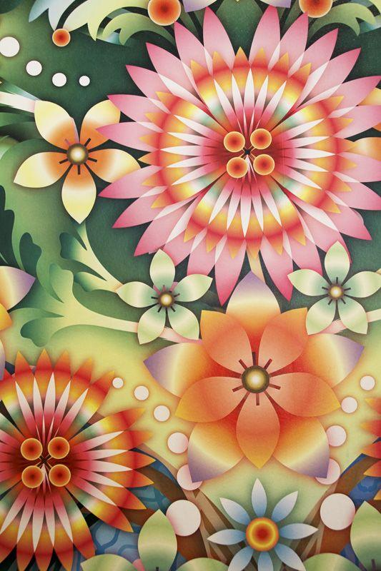 Design Weekend: papéis de parede cheios de cor na Wallpaper - Casa#7#7