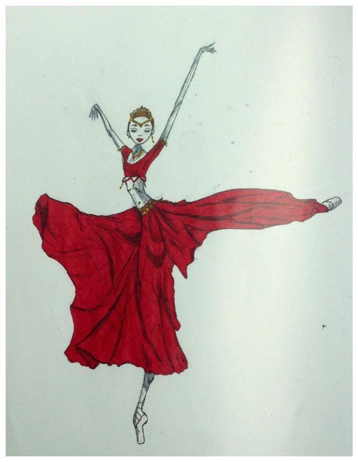 Gamzatti, La Bayadere act III Marianela Nunez BalletArts by Barbara Zorzato ©