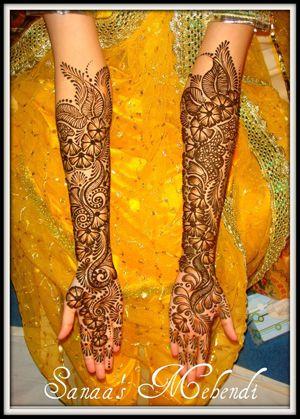 <3 Mendhi, so pretty!