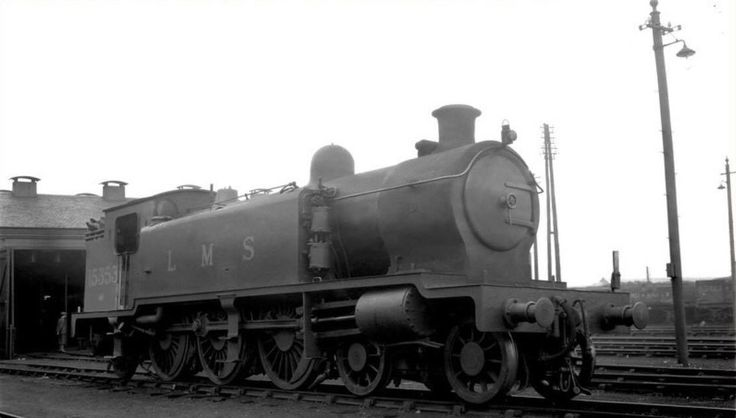 An undated view of Caledonian Railway, Pickersgill designed 4P 4-6-2T no. 15353 of 1917 vintage and built by NBL. This shot was taken at Greenock Ladyburn shed and the loco carries the CR semaphore route indicator (on the buffer beam lamp iron) for the Glasgow-Gourock service.Several of this handsome design lasted into BR days and 15353 was one such being allocated to Beattock shed for mainly banking duties from October 1946 until withdrawal in June 1951. Cr 944