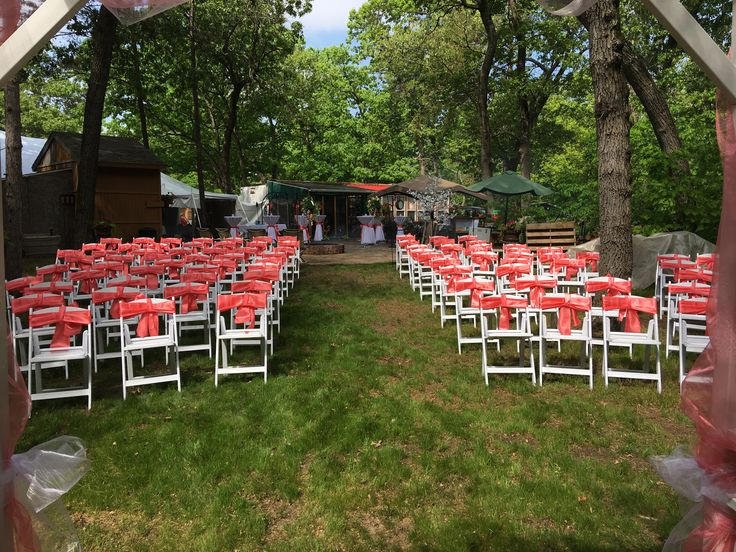 Wood Chairs Outdoor Ceremony: 25+ Best Ideas About Chair Bows On Pinterest