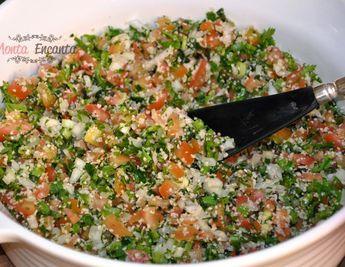 Tabule Salada Síria - Monta Encanta