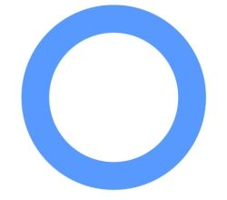 The blue circle is the universal symbol for diabetes. Until 2006, there was no global symbol for diabetes. The purpose of the symbol is to give diabetes a common identity.