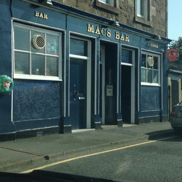 Mac's Bar, Rothesay, Isle of Bute.