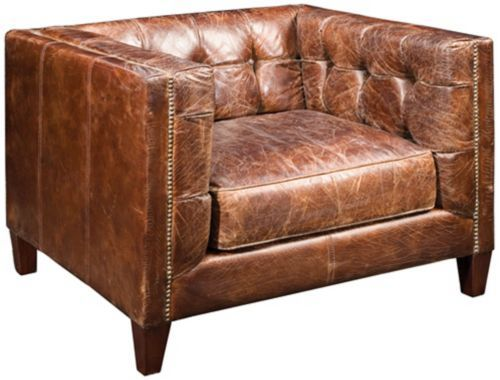 16 best leather club chair images on pinterest | leather armchairs