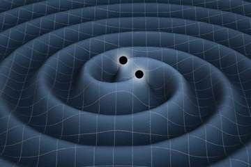 Einstein's Gravity Waves Could Be Found with New Method - Gravitational Waves of Two Black Holes