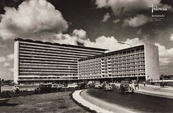 Hotel Indonesia in the 70's