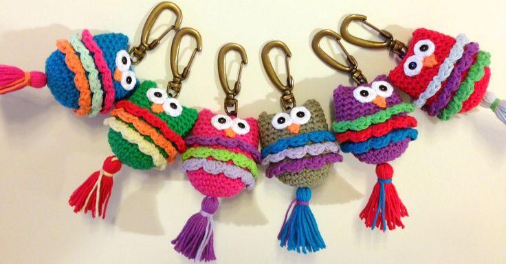 llaveros al crochet - Buscar con Google