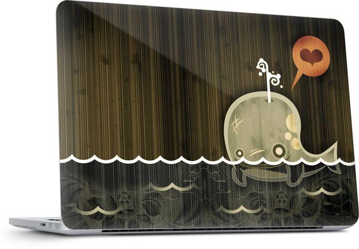The Enamored Whale Laptop Skins by Alberto Cerriteno | Nuvango