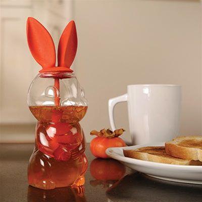 Oh, Bunny...Honey Dispenser