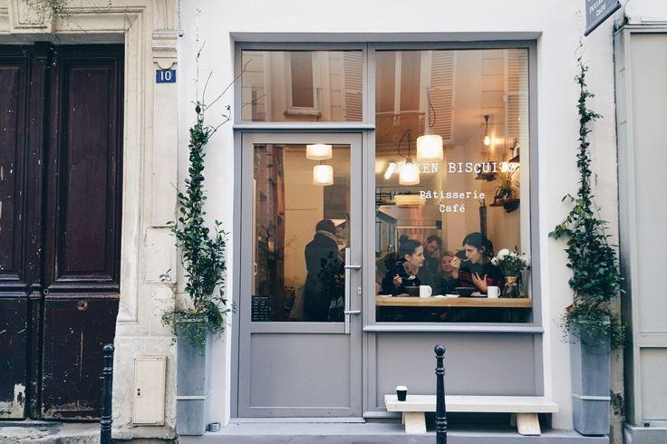 Coffee in Paris: Broken Biscuits Pastry Shop