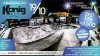 Eventos Inauguração oficial da Konig em Florianópolis - Mais um grande evento em Florianópolis reduto de grandes skatistas, agora vai ter mais uma pista de qualidade, Inauguração oficial da Konig, o Rio Vermelho em Florianópolis, entra em definitivo na cena do skate nacional com o mais novo e perfeito bowl da KONIG HOUSE.