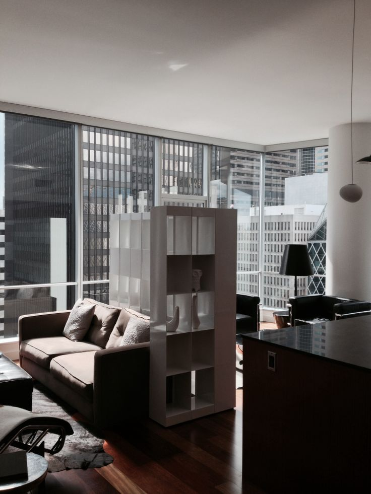 Great modern room divider and screen.