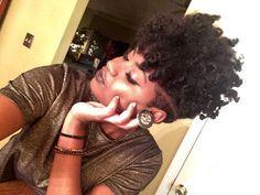 undercut natural hair side cut