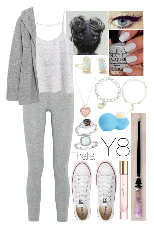 """""""#133"""" by moon-crystal-wolf ❤ liked on Polyvore featuring LAAIN, MANGO, N.Peal, Converse, OPI, Kendra Scott, LC Lauren Conrad, Judith Ripka, With Love Darling and Burberry"""