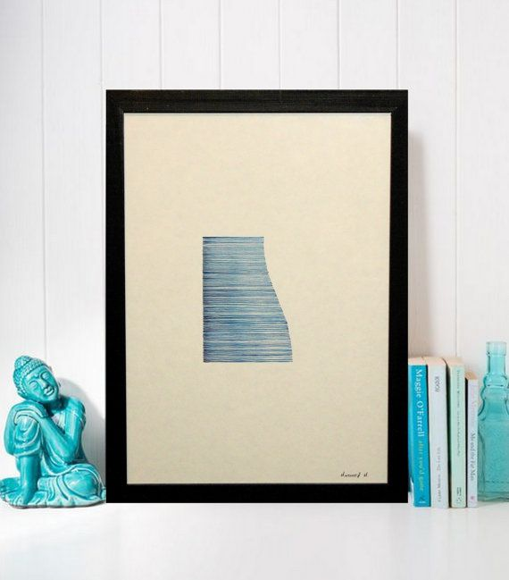 Breaking Waves by MariaMintiouri on Etsy