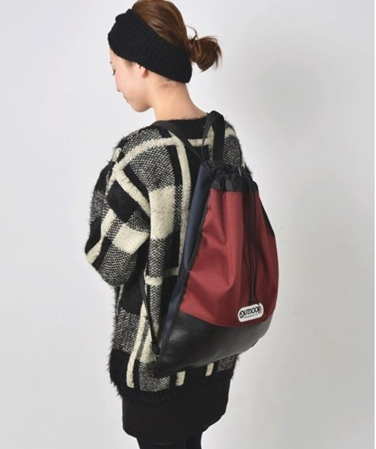 Khaju カージュ OUTDOOR× バックパック / color block backpack on ShopStyle