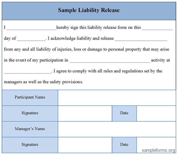 896 best images about Free Sample Legal Documents – Liability Release Form Template Free