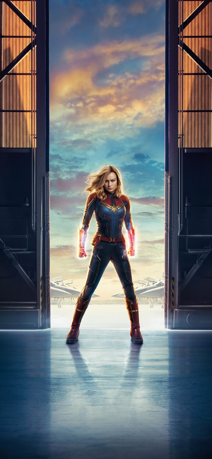 1125x2436 Captain Marvel Movie 10k Iphone XS,Iphone 10,Iphone X HD 4k Wallpapers...