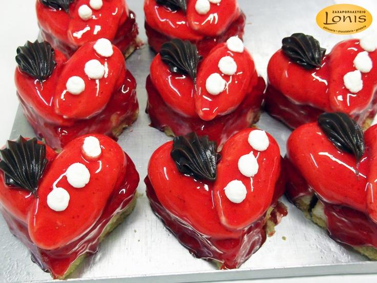 Πάστες - Αγ.Βαλεντίνου #valentinesday