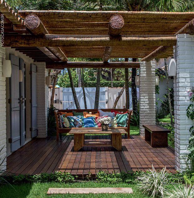 17 best images about modelos de casas on pinterest - Porches de casas ...