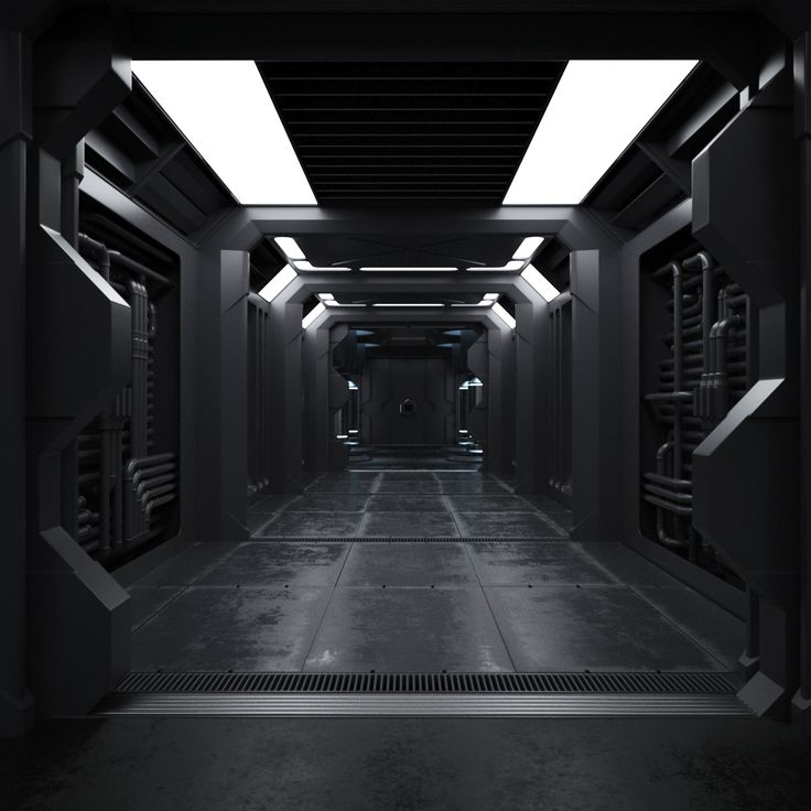 Spaceship Interior on Behance