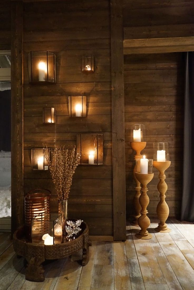 Candles cabin - livingdelux