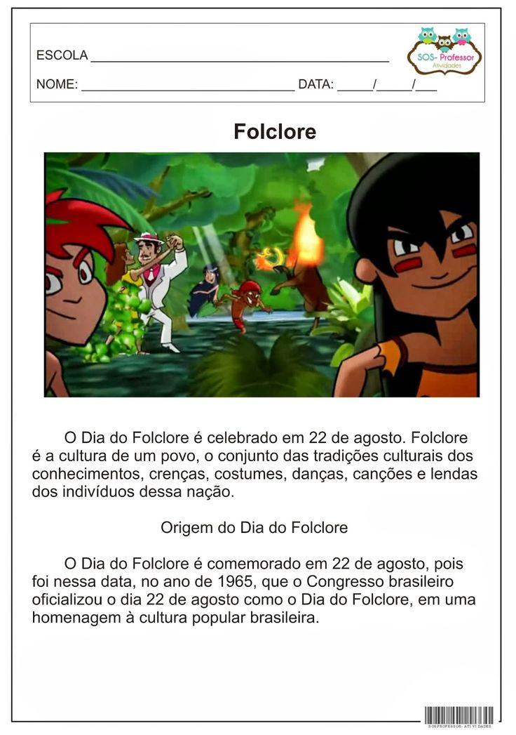 folclore, Data