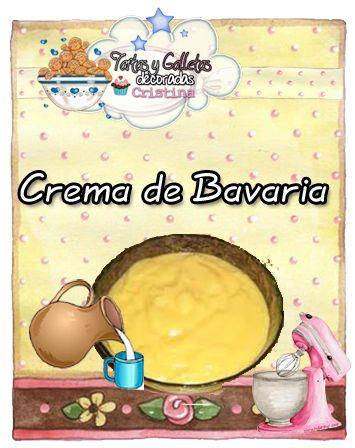 """La crema bávara , crème bavaroise , o simplemente la bavaroise o en España , la bavarois (del francés """"bávara"""") es un postre f..."""