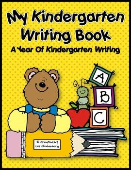 ~FREEBIE~This book is a great way for you to assess how your students are progressing in writing during the school year.