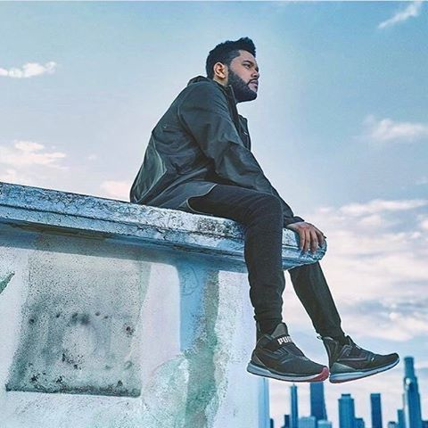 ‪The Weeknd for Puma.‬