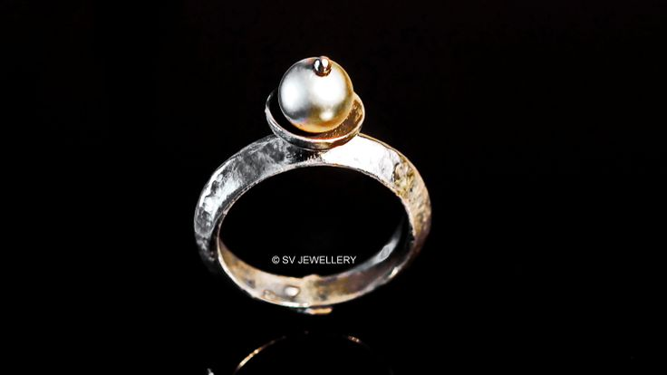 Sea Pearl,Silver Ring