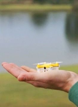 This tiny, palm-sized drone concept will help you catch Pokemon in Pokemon Go