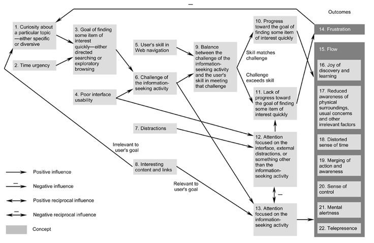 A grounded theory of the flow experiences of web users
