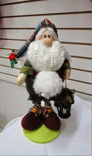 Papai Noel by FELTRO MOLDES ARTESANATO EM GERAL