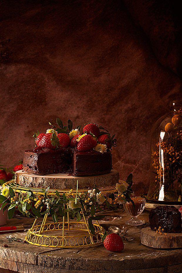 Tarta De Queso De Chocolate {La Receta Más Fácil Y Rica}