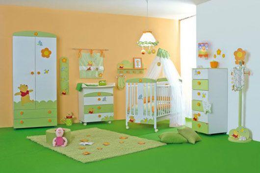 baby nursery room Winnie the Pooh themes, Winnie the Pooh children room detail visit javabali.info