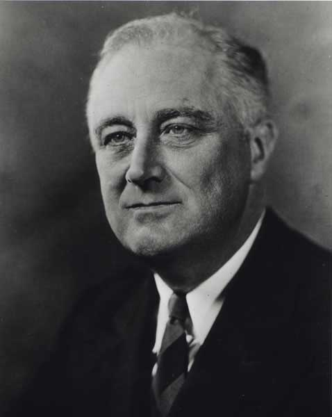 #32 Franklin Delano Roosevelt  Term 1933-1945