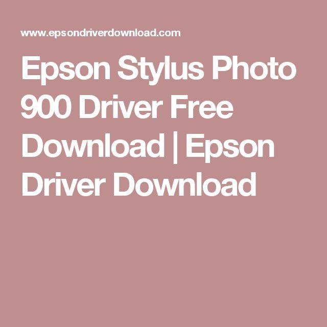 Epson Stylus Photo 900 Driver Free Download | Epson Driver Download
