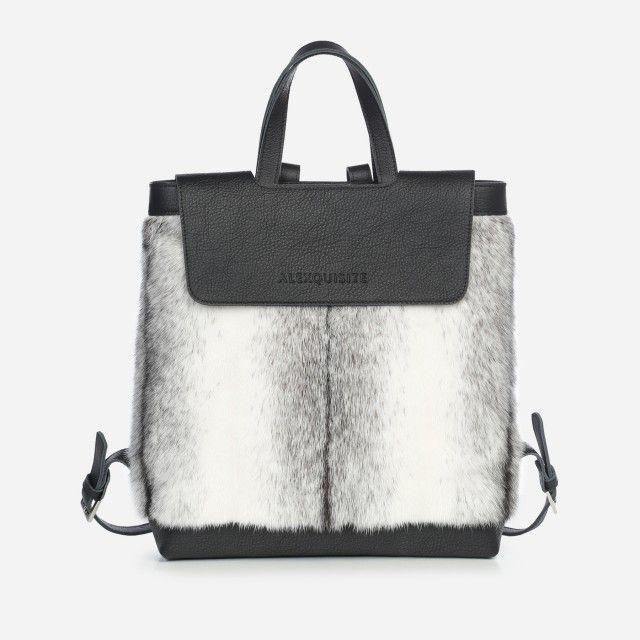 Backpack Black Cross Mink by Alexquisite