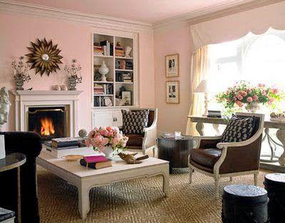 Cómo Decorar la Sala con colores Rosados