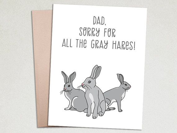 Funny Fathers Day Card Gifts for dad Humour by TheImaginationSpot