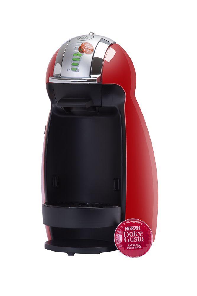 Cafetera Dolce Gusto Color Rojo  Capacidad 4 a 8 onzas.