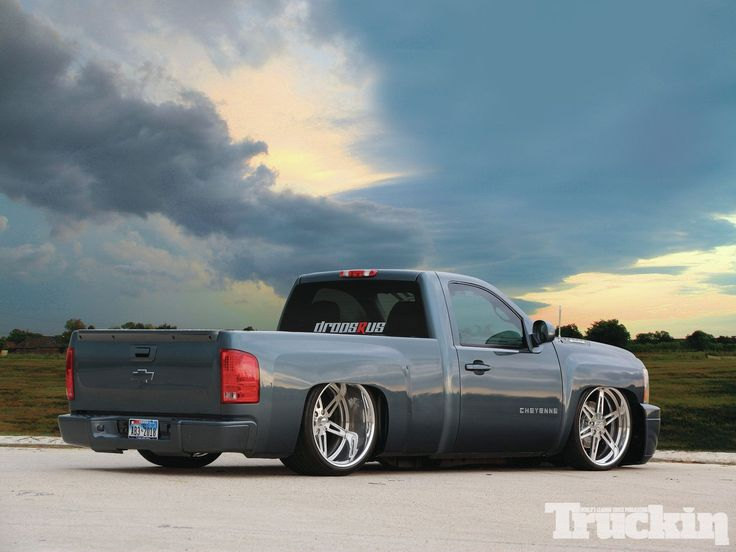 After Jose Pena purchased his 2007 Chevy Silverado, it was off to the shop for an overhaul.  Featuring 24 inch wheels, adjustable suspension, and an LS3 crate engine with a Whipple Supercharger, and more, Jose certainly created a head-turning street rocket, on the cover of Truckin Magazine