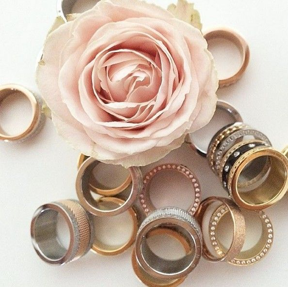 Rings; Arctic Symphony Collection; Silver; Gold; Rosé gold; BERING