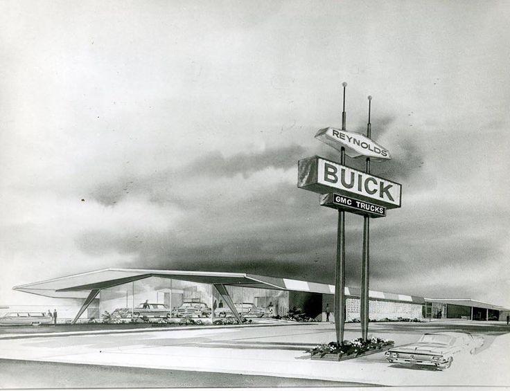 Roseville Buick Gmc >> Reynolds Buick circa 1964 | Old Car Dealerships | Buick ...