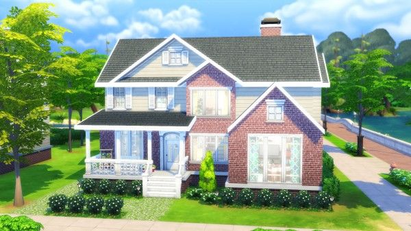 Mod The Sims Family House No Cc By Chaosking Sims 4 Family