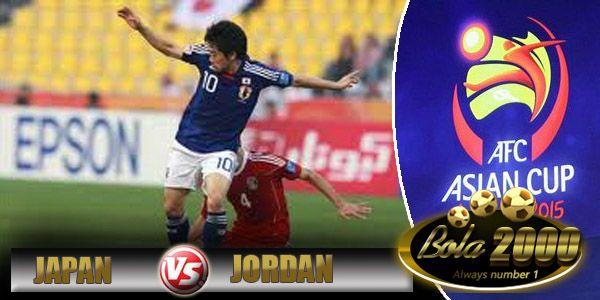 Prediksi Skor Bola Jepang vs Jordan 20 Jan 2015